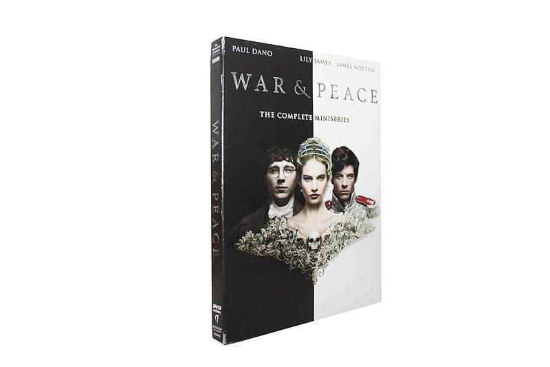 War And Peace season 1 2 DVD Boxset Free Shipping