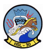 """5"""" NAVY HSL-30 HELICOPTER ANTI-SUBMARINE NEPTUNE'S HORSEMAN EMBROIDERED ... - $18.04"""