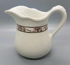 McNichol China Vintage Ceramic Creamer Pitcher Restaurant Ware Made in USA - $9.99