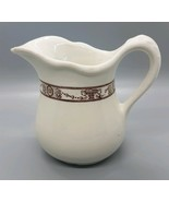 McNichol China Vintage Ceramic Creamer Pitcher Restaurant Ware Made in USA - $9.99