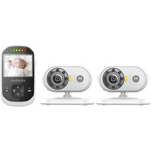Motorola MBP25 Video Baby Monitor with 2 Camera... - $214.04