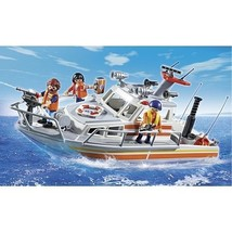 Playmobil - Rescue Boat with Water Hose (5540) - $78.48