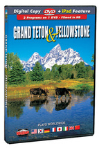 Grand Teton & Yellowstone NPS - Finley Holiday Films. DVD-Widescreen. Wo... - $20.00