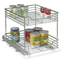 Household Essentials Two-Tier Basket Sliding Ca... - $133.58