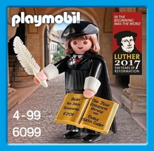 Brand New Playmobil 6099 16th century Protestant reformer Martin Luther ... - $55.43