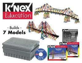 K'NEX Education- Real Bridge Building - Builds 7 Different Bridge Models... - $270.28
