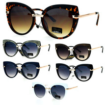Giselle Womens Bat Shape Cat Eye Designer Sunglasses Sunglasses - $12.95