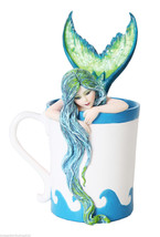 Morning Bliss Mermaid Amy Brown 2015 Collection Tea Coffee Sea Water - $28.22