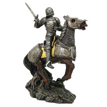Medieval Knight On Horse Caballero Horsemanship Eleventh Century Horsema... - $44.09