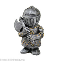 "Knight 4.5"" Swordsman Mini Collectible Statue C... - $20.30"