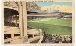 POLO GROUNDS Postcard - uncommon, circa 1918 - $56.43