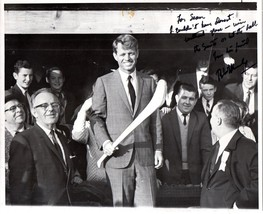 ROBERT F. KENNEDY Signed 8x10 photograph - possibly one of a kind photo - $1,658.25