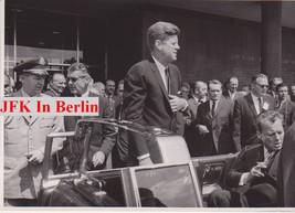 JOHN F. KENNEDY 23 rare photos of his trip to Berlin, original JFK memor... - $2,277.00