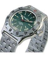 Vostok New Amphibian 100821 Russian Automatic Divers Wrist Watch 200m Auto Green - $80.28