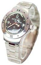 Vostok Amphibian Military Russian Diver Watch Scuba Dude Black 2416/060634 - $73.72