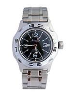 Vostok Amphibian Military Russian Diver Watch Classic Black 2416 / 100315 - $72.27