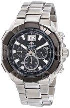 Orient Men's FTV00002B0 Enterprise Analog Japanese-Automatic Silver Watch - $309.42