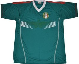 Mexico Home Soccer Jersey Size Large Green - $18.61