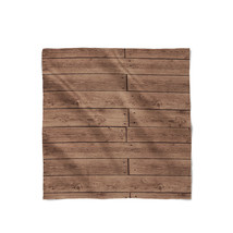 Reclaimed Floorboards Wood Pattern Satin Style Scarf - ₨1,558.60 INR+