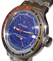 Vostok Amphibian Military Russian Diver Watch Scuba Dude 2416 / 420007 - $75.18