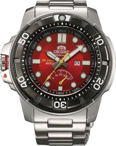 Primary image for Orient #SEL06001H Men's Stainless Steel M-Force Beast Diver Power Reserve Aut...