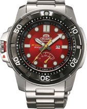 Orient #SEL06001H Men's Stainless Steel M-Force Beast Diver Power Reserv... - $891.43