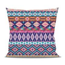 Pastel Aztec Tribal Geometric Fleece Cushion - $24.99 - $41.99