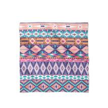 Pastel Aztec Tribal Geometric Satin Style Scarf - $22.99+