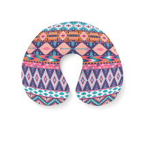 Pastel Aztec Tribal Geometric Travel Neck Pillow - €16,35 EUR