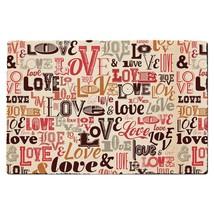 Love Typography Door Mat - $32.99+