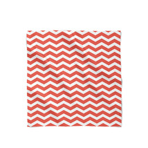 Chevron Red Satin Style Scarf - $430,91 MXN+