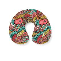 Colors in Flight Travel Neck Pillow - $25.22 CAD