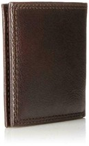Tommy Hilfiger Men's Leather Wallet Billfold Chocolate 31TL13X051 New w/o Tags image 2