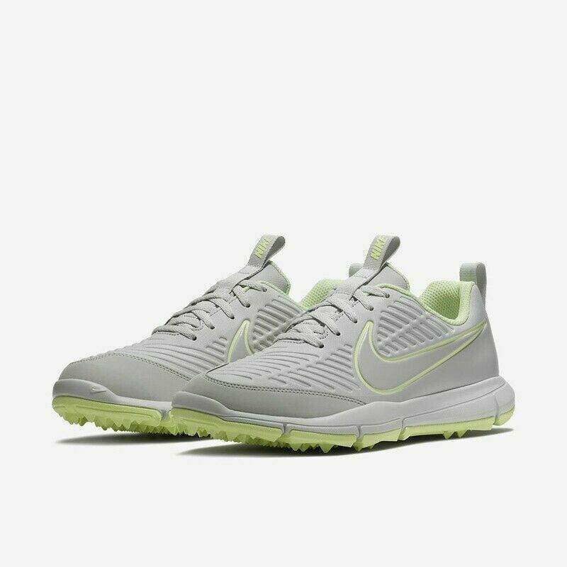 Primary image for New Women's Nike Explorer 2 Golf Shoes Platinum Gray Volt AA1846-001 Size 9.5