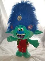 Dreamworks Trolls Movie 24 inch Door Greeter Plush Christmas Themed - $28.79