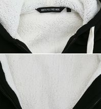Men's Heavyweight Thermal Zip Up Hoodie Warm Sherpa Lined Sweater Jacket image 4