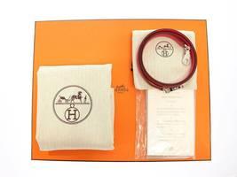 HERMES Bolide 27 Epsom Rose Extreme #D Handbag Shoulder Bag Authentic 5554645 image 10