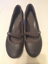 Shoes Women's Size Heels Mary Pumps Casey Wedge Brown Janes 10 Crocs pwUap
