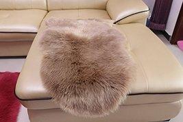 HUAHOO Faux Fur Sheepskin Rug Dousha Kids Carpet Soft Faux Sheepskin Cha... - $75.99