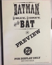 BATMAN The Blue the Grey and the Bat (1992) DC ... - $9.89
