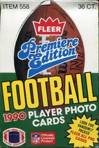 1990 NFL Fleer & Pro Set World League ~ Factory Sealed 36 Wax Pack Boxes - $16.82