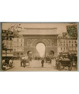 79. Postcard of Paris - Porte Saint-Martin, c.1907 - $10.00