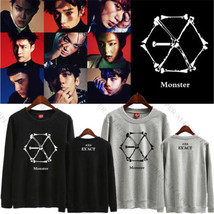 Kpop EXO Planet #3 Sweater EX'ACT EXO'rDium Chanyeol Hoodie Unisex Sehun... - $9.87