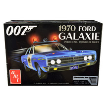Skill 2 Model Kit 1970 Ford Galaxie Police Car Las Vegas Metropolitan Po... - $64.50