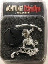Achtung! Cthulhu Miniatures - 28mm - Deep One Reef Breaker - Modiphius #119 - $18.00