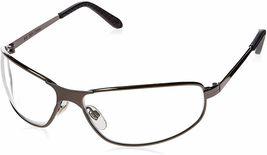 UVEX Tomcat Gunmetal Frame Clear HC Lens Safety Glasses image 3