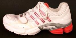 ADIDAS CLJ 657001 - White and Neon Orange Athletic Shoes - Women's Size: 7.5 - $42.68
