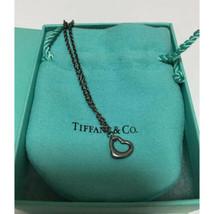 Tiffany & Co. Elsa Peretti Sterling Silver Open Heart Bracelet Free Shipping - $73.49