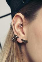 Axe ear cuff - 90s vintage deadstock earring - $28.80