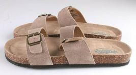 Woodstock Women Leslie Comfort Footbed Adjustable Straps Sandal Shoe Tan Size 9 image 6
